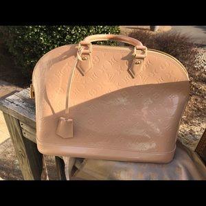 Louis Vuitton blush bag
